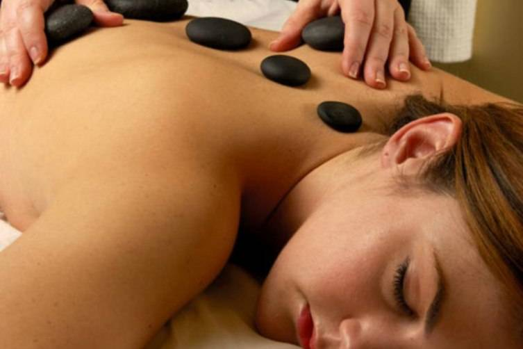 Choose a hot stone massage for deep relaxation..