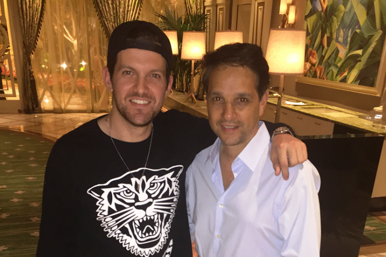 Ralph Macchio and Dillon Francis