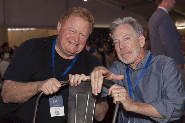 Rusty Staub and David Pearson at Auction Napa Valley 2015.