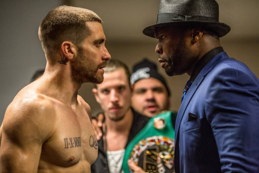 Jake Gyllenhaal and Curtis Jackson star in SOUTHPAW.