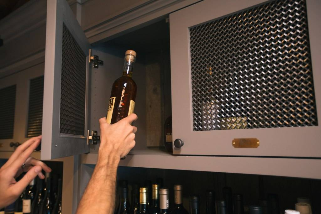 Whisky locker