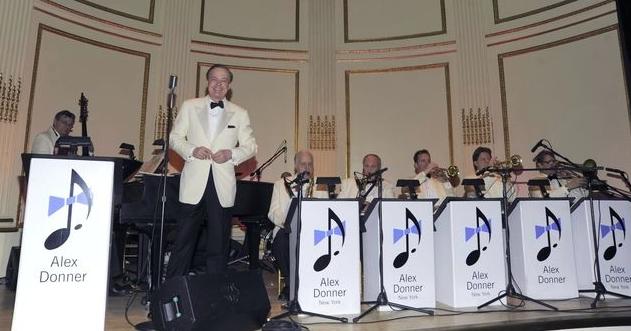 Alex Donner orchestra, image via alexdonner.com