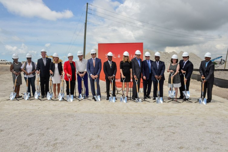 SoLe Mia Ground Breaking