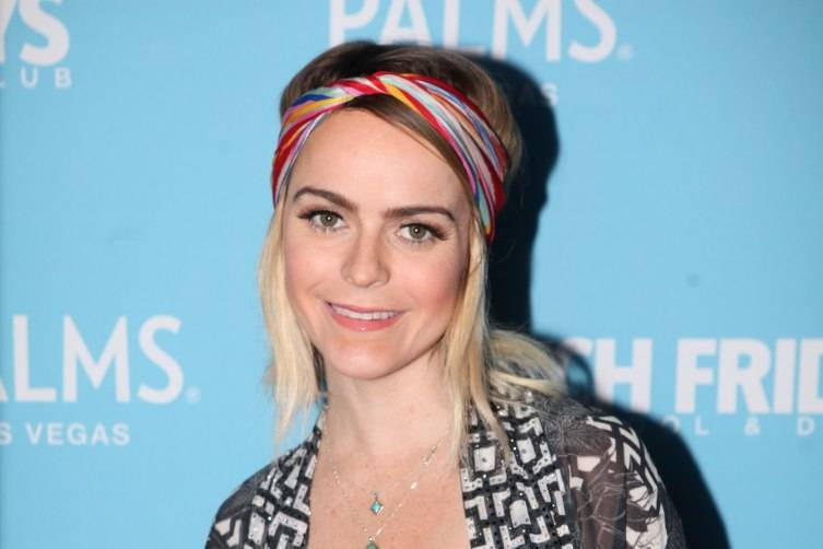 Taryn Manning on red carpet at Ditch Fridays