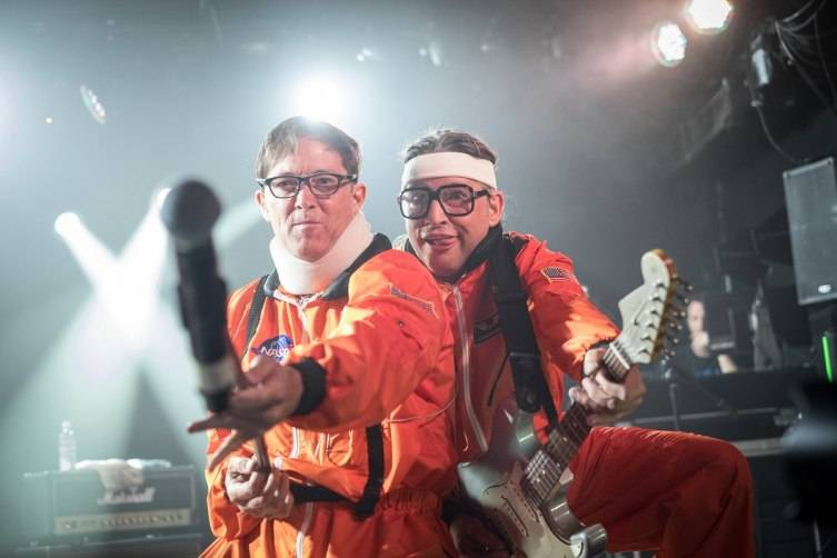 The Spazmatics performed at Belly Up