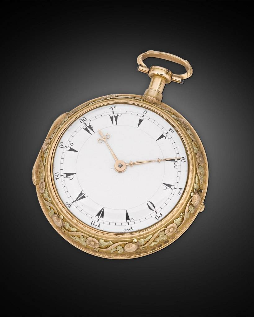 Turkish Pocket Clock-Watch by Cardinaux