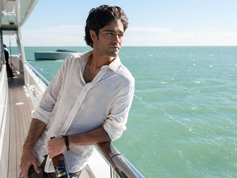 "ADRIAN GRENIER as Vince in Warner Bros. Pictures,' Home Box Office's and RatPac-Dune Entertainment's comedy ""ENTOURAGE,"" a Warner Bros. Pictures release."