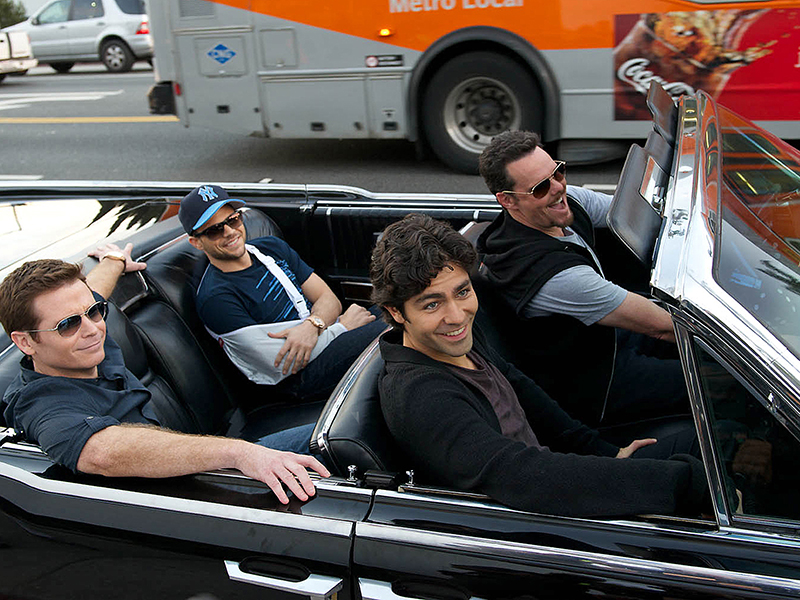 KEVIN CONNOLLY as Eric, JERRY FERRARA as Turtle, ADRIAN GRENIER as Vincent Chase and KEVIN DILLON as Johnny