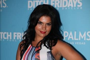 Vassy on the red carpet at Ditch Fridays