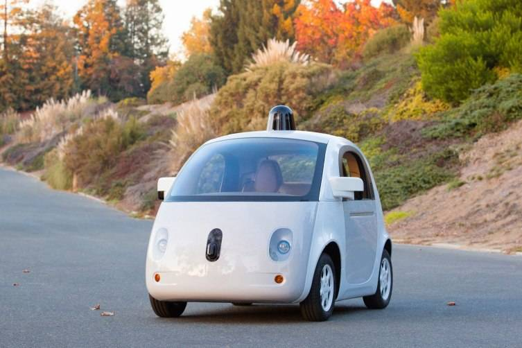 The new Google self-driving car