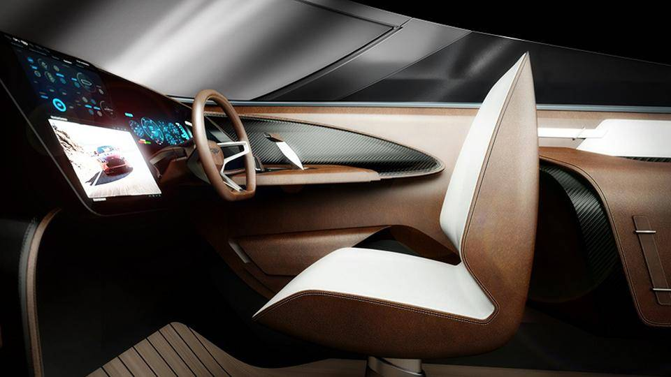 Interior of the Aston Martin AM37