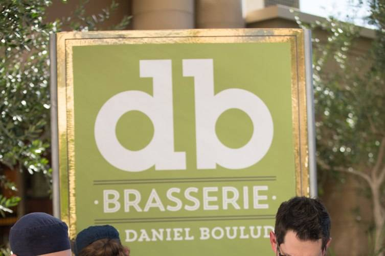 db Brasserie's Chef David Middleton and team prepare the booth for the 7th Annual Carnival of Cuisine at The Palazzo