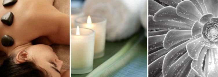 Begin the signature Hiatus Massage with a foot soak.