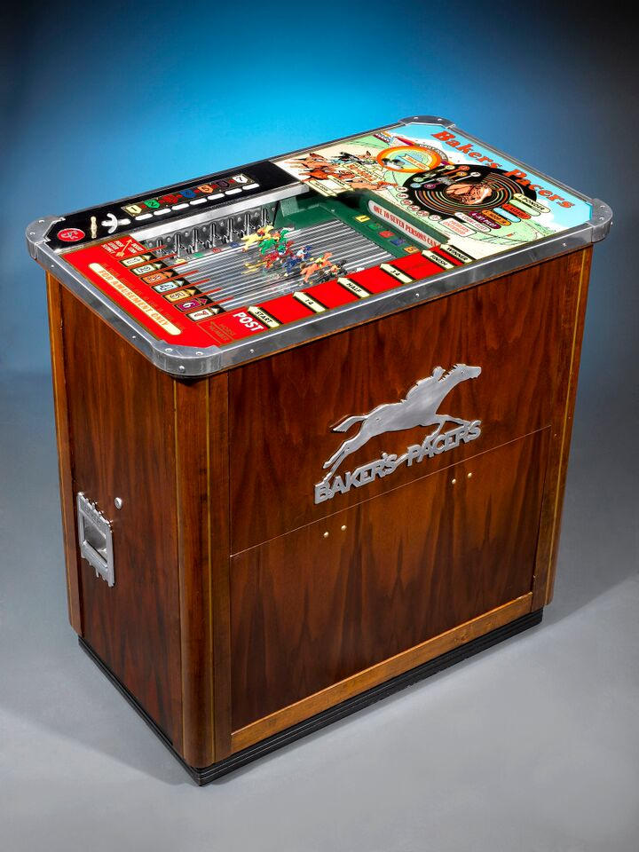 Baker's Pacers Short Track Horseracing Machine
