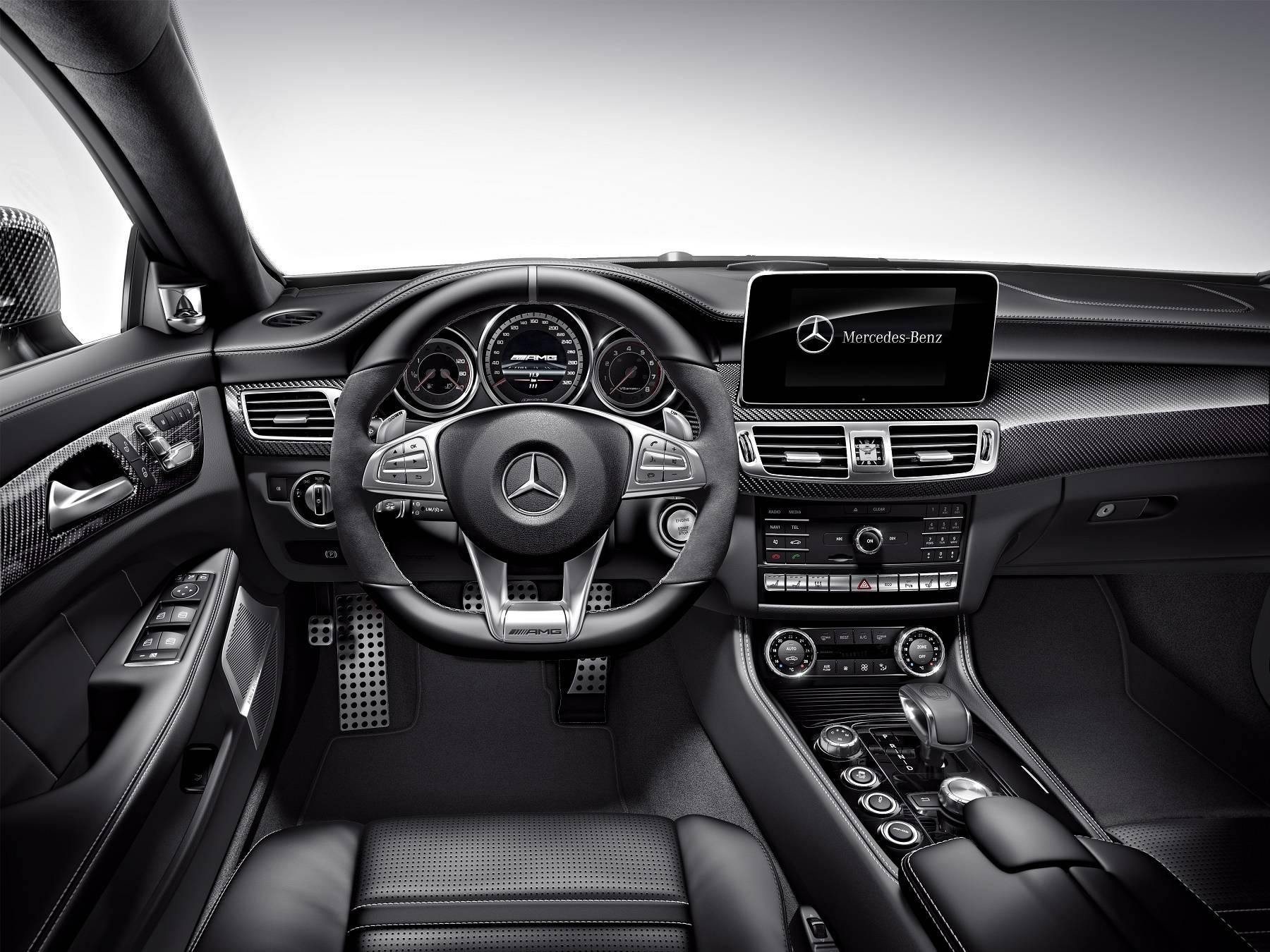 mb cls63 interior