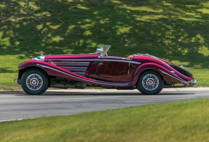 1938 Mercedes 540 K Special Roadster