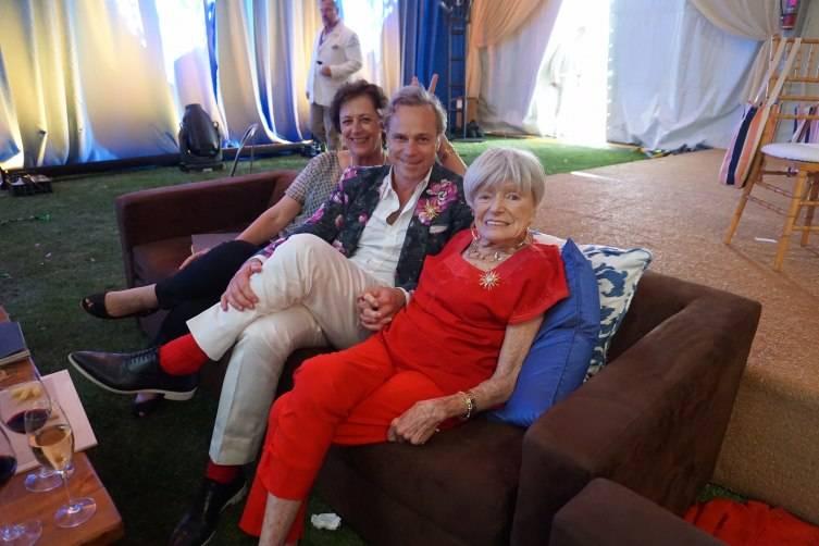 Geneviève Janssens, Jean-Charles Boisett and Margrit Mondavi