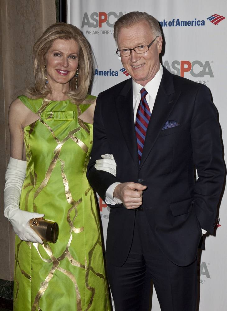 Emcee Chuck Scarborough and wife, image by Lev Radin