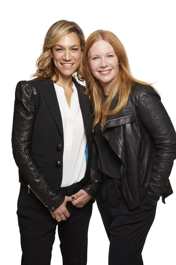 Julie Rice and Elizabeth Cutler
