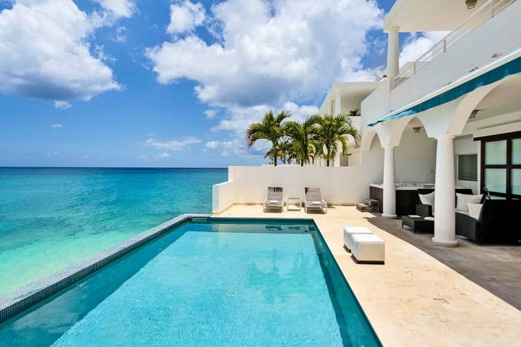 Beachfront villa in St. Martin listed on Luxury Retreats.