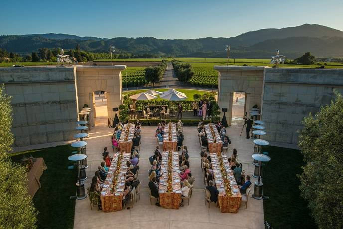 Founders Dinner at Opus One at Festival del Sole 2015