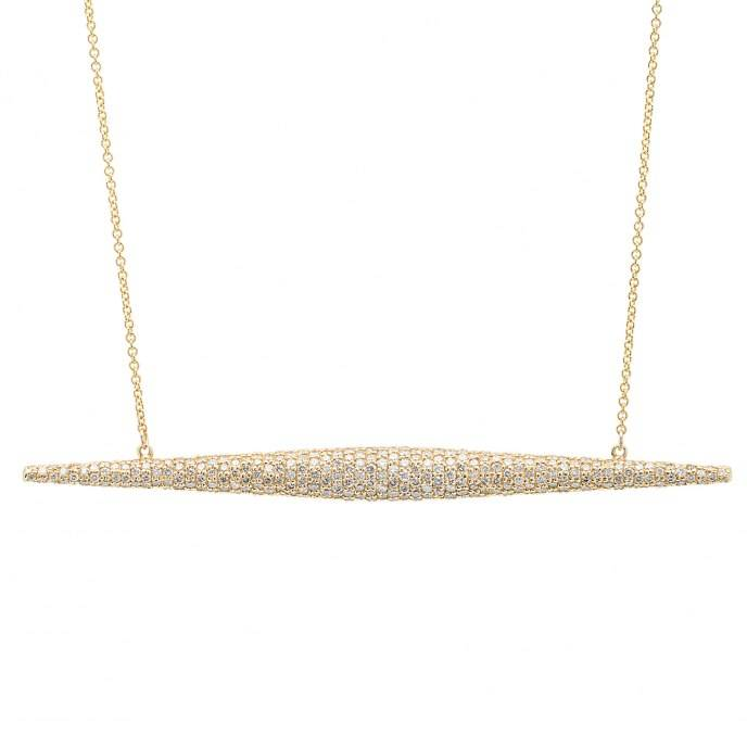 Established's Yellow Torpedo necklace; $28,000