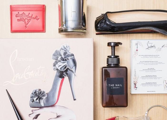 Exclusive offerings from Christian Louboutin, The Upper House, and The Nail Library.