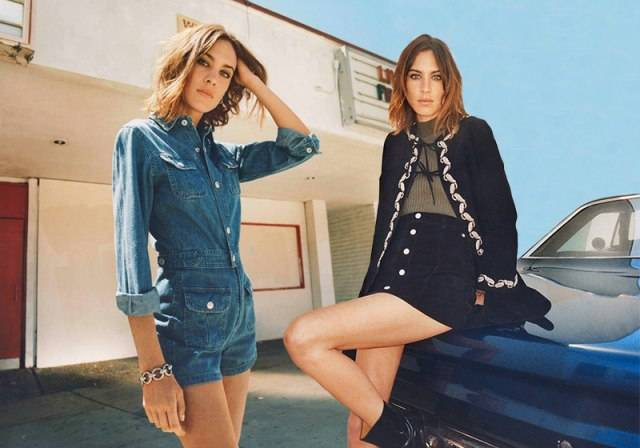 0b7f912a21 Alexa Chung Collaborates with AG Jeans - Haute Living