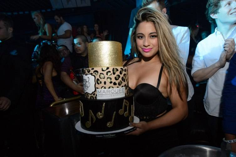 Ally Brooke of 5th Harmony celebrates her 22nd birthday at Marquee Nightclub Las Vegas, located in the Cosmopolitan of Las Vegas on July 6, 2015 in Las Vegas, NV. (Photo by Al Powers/Powers Imagery/Invision/AP)