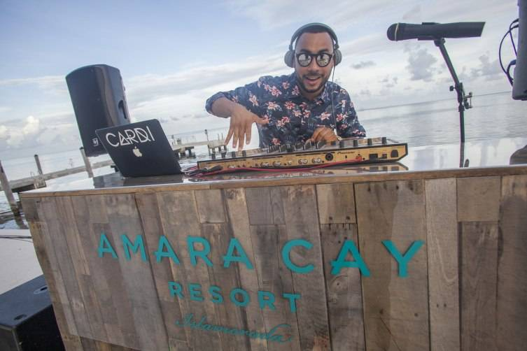 Amara Cay Resort Grand Opening_DJ Cardi