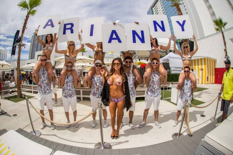 Arianny Celeste parties at Foxtail Pool following Conor McGregor's big win July 12_Tony Tran