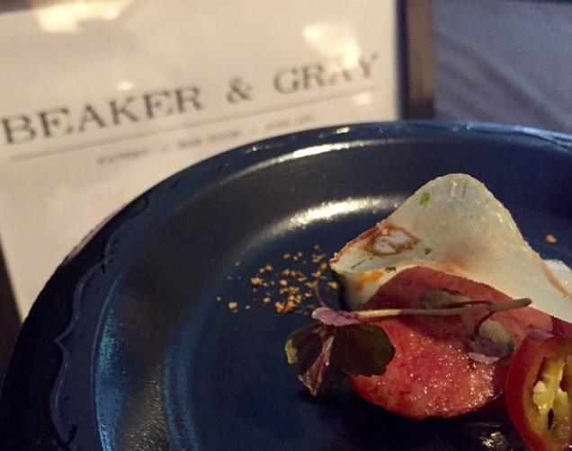 Beaker & Gray Food