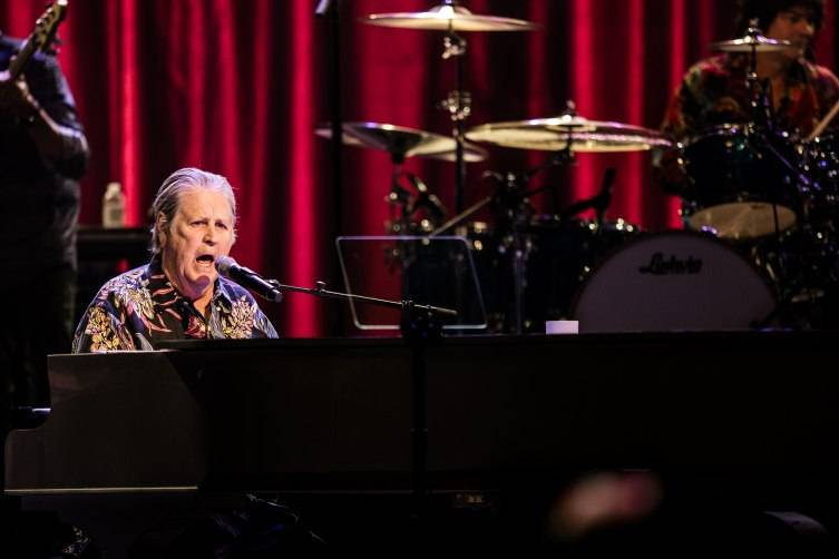 Brian Wilson performs at The Chelsea at The Cosmopolitan of Las Vegas.