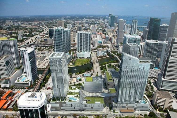 Brickell City Center ariel