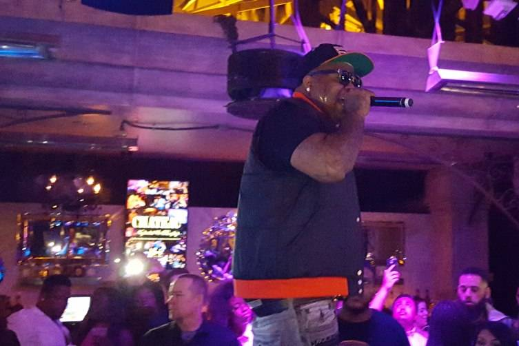 Chedda Da Connect performs at Chateau Nightclub