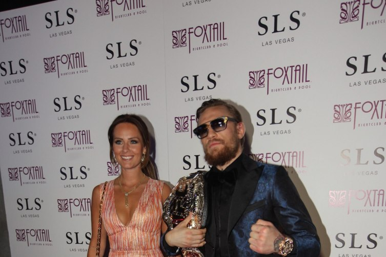 Conor McGregor on the red carpet at Foxtail