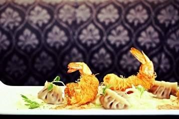 Crispy Shrimp & Dumplings