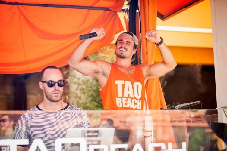 DJ Javier Alba hosts Booty Beach at Tao Beach