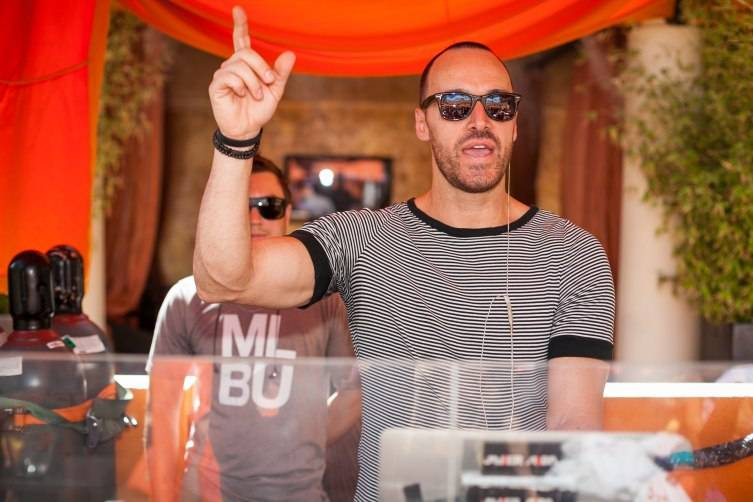 DJ Javier Alba kicks off the weekend at Tao Beach