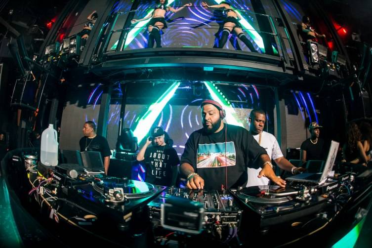 DJ Khaled hosts Marquee Mondays.