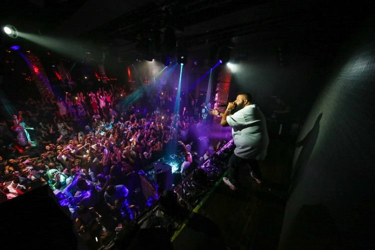 DJ Khaled hosts official TopSpin after party at TAO_7.18.15