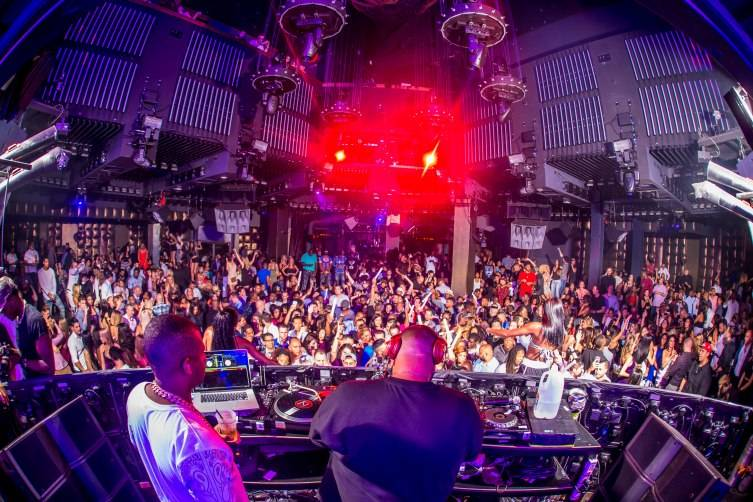 DJ Khaled performs to a packed crowd at Marquee Nightclub_7.14.15