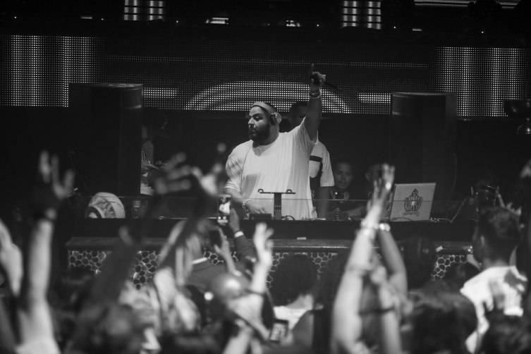 DJ Khaled providing the soundtrack Saturday night at TAO_7.18.15