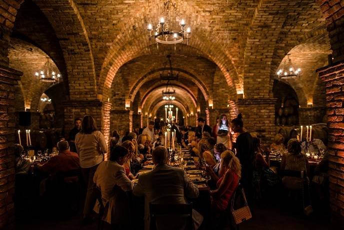 Opening Night Dinner at Castello di Amorosa