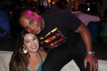 Daniel Cormier with Friend at Chateau Nightclub
