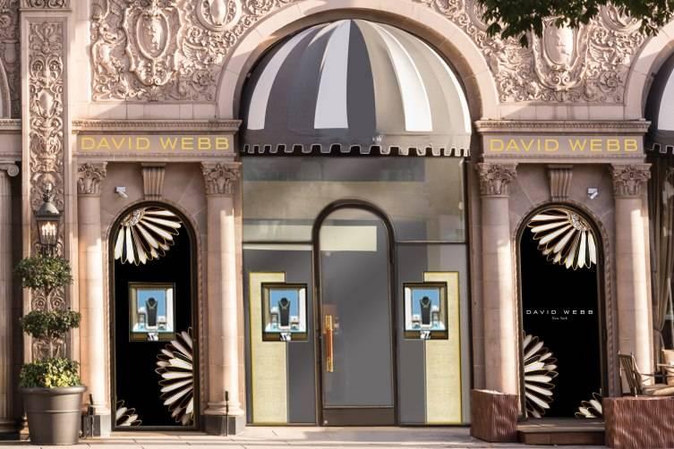 David Webb at the Beverly Wilshire