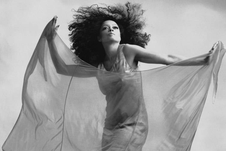 Diana Ross Black and White