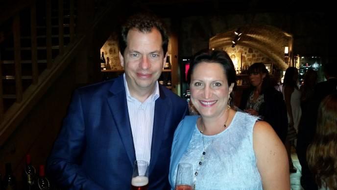 Diego Tonda and Ana Keller