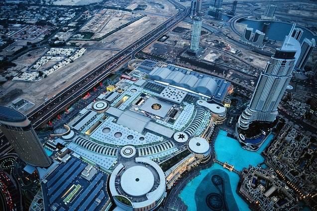 Dubai-aerial-view