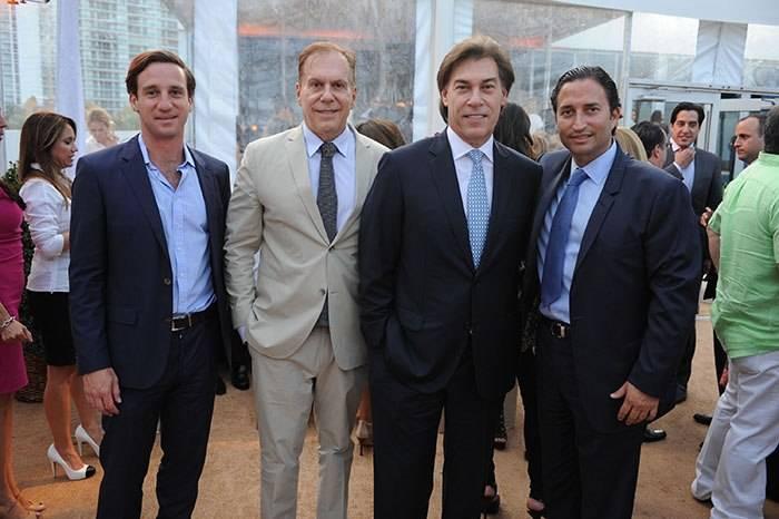 Eduardo Imery, Bernardo Fort Brescia, Edgardo Defortuna & Manuel Grosskopf